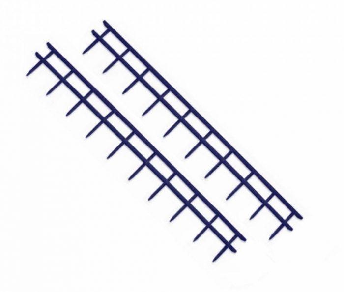 Peignes Velobind 10-picots-bleu