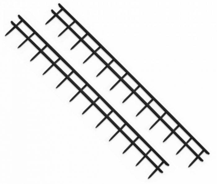 Peignes Velobind 12-picots-noir