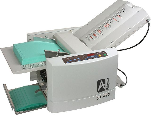 albyco-490 plieuse papier