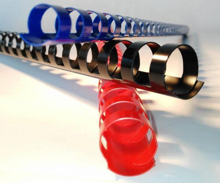 Anneaux plastiques 20 boucles