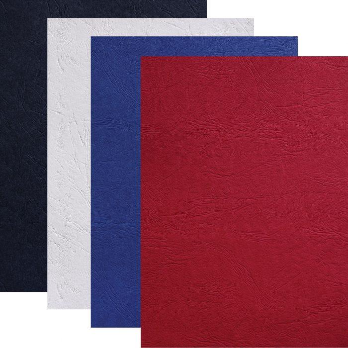 Couvertures carton grain cuir